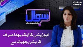 Opposition ka aik hona sirf corruption chupana hai - Ali Zaidi | SAMAA TV