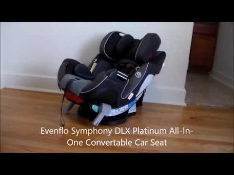 Evenflo Symphony DLX Platinum All-In-One Convertab
