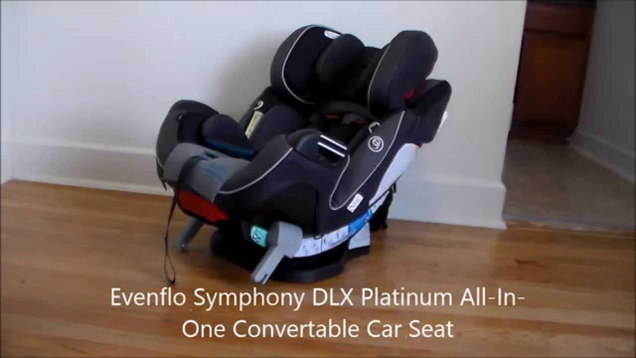 Evenflo Symphony DLX Platinum All In One Convertab