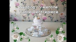 Wedding Table Centrepiece Poundland - Home Bargains -  Valentine