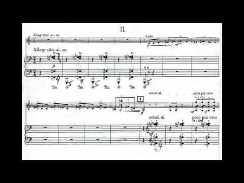 Bartók Violin-Piano Sonata No. 2, Bruce Berg with Tibor Szász, Jan. 14, 1990 USA