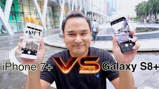 Samsung Galaxy S8 Plus vs iPhone 7 Plus - Camera Test!