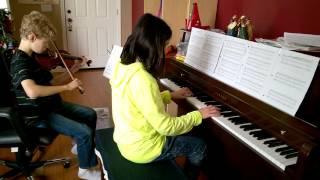 MLP - A True, True Friend Violin + Piano Duet