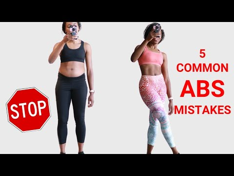 5 Abs Mistakes to Avoid for Faster Results...video starts at 6:39 (sorry)