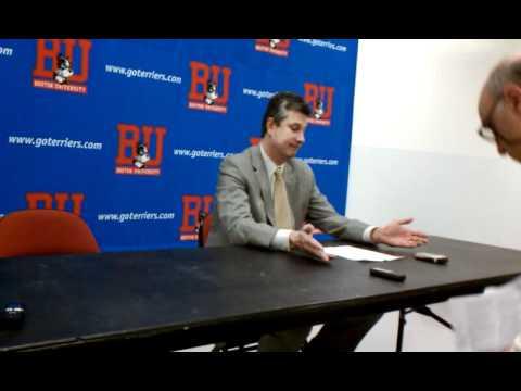 BU-La Salle Press Conference: John Giannini, Ruben...