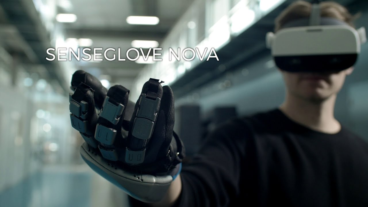 SenseGlove представили перчатку Nova