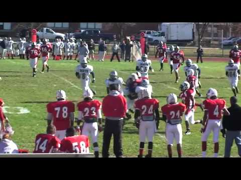 Mike Blakley #12 Hazelwood West Football Highlights
