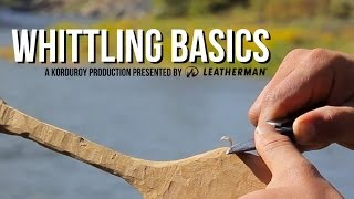 Whittling Basics - D-i-why Not?