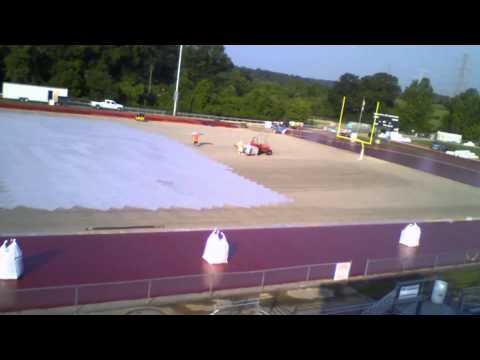 Bond Issue Progress - Turf Field Completed at Marquette High School