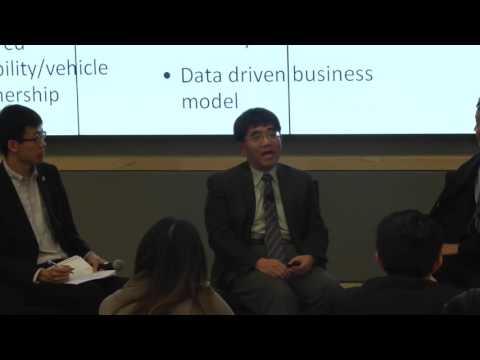 2017 MIchigan China Forum Panel: Disrupting Mobility in the U.S.