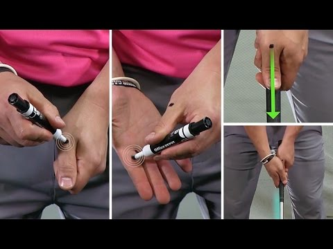 "How to Grip a Golf Club: ""Weaken"" grip to cure your hook"