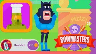 Bowmasters - NEW VIP Master Chef Tournament Gameplay Walkthrough iOS/Android