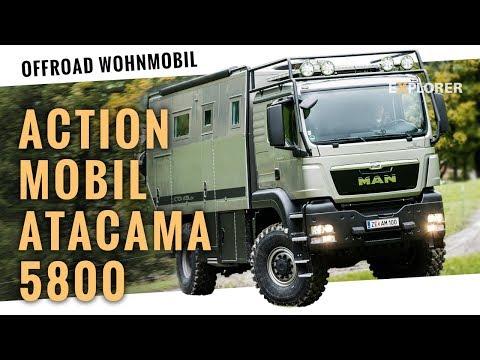 Action Mobil Atacama: Relaunch des beliebten Premium-Expeditions-Lkw (Probefahrt)