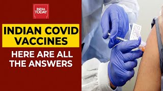 Here are some frequently asked questions based on the two vaccines that have been given a final nod by dcgi.#indianvaccines #coronavirus #indiatodaysubsc...