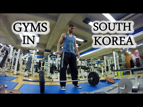 Gyms In Korea | Teaching English In Korea