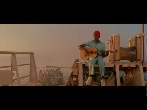 Space oddity scene with Steve Zissou (Seu Jorge)