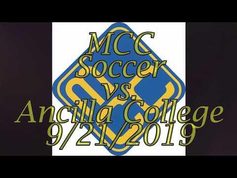 MCC Mens Soccer vs  Ancilla College  9 21 2019