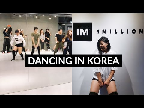 1MILLION etc | How To Take Dance Classes in Korea