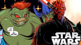 Darth Maul's First Mission and How He Got His Tattoos - Star Wars Explained