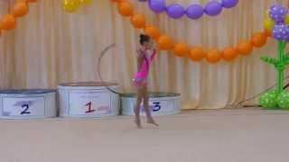 Художественная гимнастика.Паринова Екатерина 2005 г.р. обруч