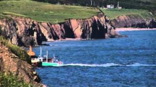 Bay St. Lawrence on Cape Breton Island Nova Scotia