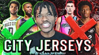 RANKING EVERY 2020-2021 NBA CITY JERSEYS