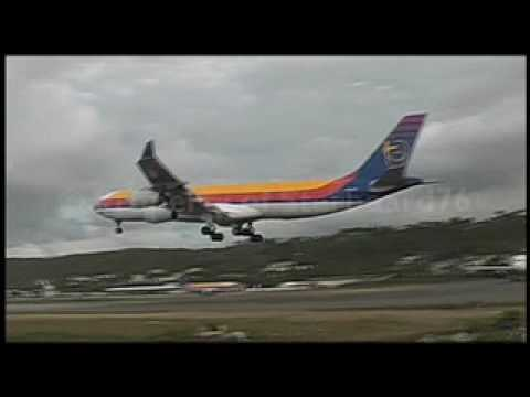 AIr Jamaica A340 At Montego Bay With A310 & A321s At Kingston