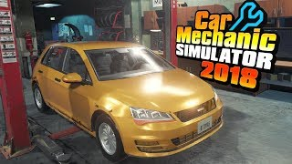 Broke Mechanic Opens Auto Shop! - Car Mechanic Simulator 2018 Gameplay - Part 1