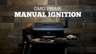 Green Mountain Grills Prime Support | Manual Ignition