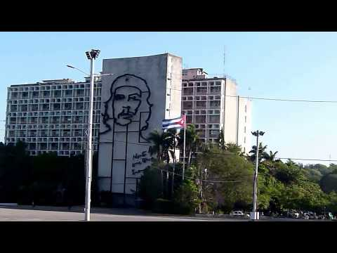 Revolution Square in Santiago de Cuba