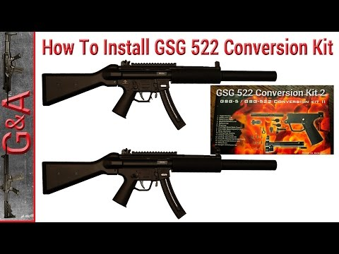 How To: Install GSG 522 Conversion Kit