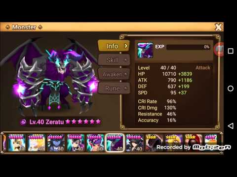 Summoners War Top Level Arena Defenses p2