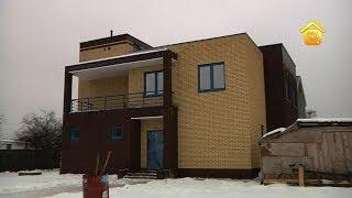 видео Проекты домов с плоской крышей