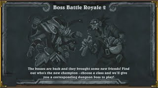 Hearthstone - Boss Battle Royale - Sindragosa
