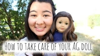 How To Take Care For Your American Girl Doll ♡