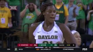 Stanford vs Baylor Women's Basketball Highlights