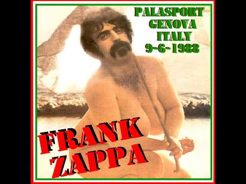 06 09 88 Genoa, IT - Frank Zappa 1988 tour (Last Show of Last Tour)