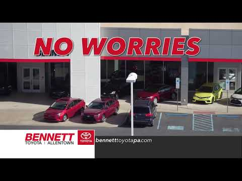 0% Financing And $0 Down Every Day At Bennett Toyota Allentown!