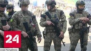 Смотреть видео Не работа, а призвание: в Чечне завершился чемпионат по тактической стрельбе - Россия 24 онлайн