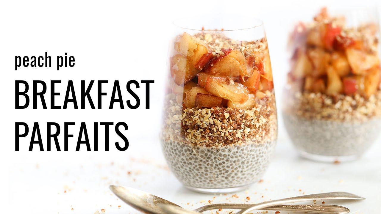 images Peach Pie Breakfast Parfait