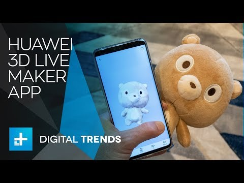 Huawei 3D Live Maker App On The Mate 20 Pro