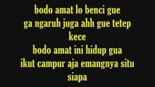 ECKO SHOW Feat Young lex   Bodo Amat  With Lyrics