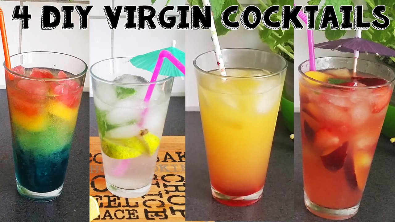 Alcoholvrije Cocktail 4 Alcoholvrije Cocktails Moijto Sangria Rainbow Fizz Arizona Sunset Recept 2k Zomerse Drankjes