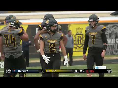 5A Football: Timpview at Roy High School 2018 UHSAA State Tournament Quarterfinals