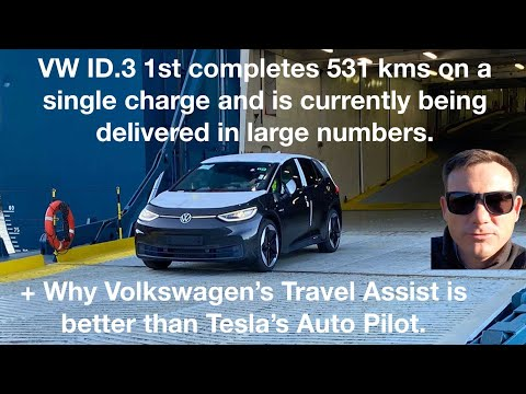 New Vw Id 3 Does 531km On Real Range Test Youtube