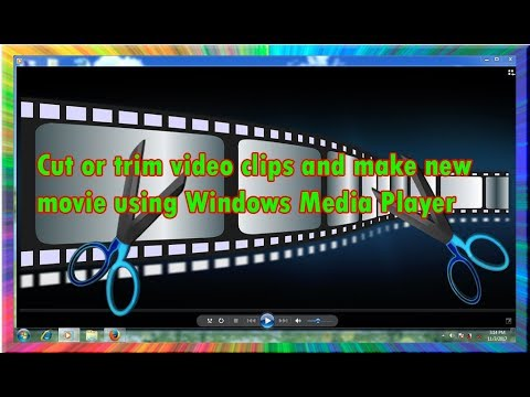 how to cut or trim video clips and make new movie using