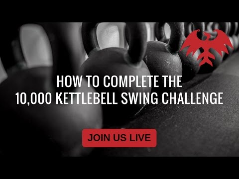 How to participate in 10,000 Kettlebell Swing challenge (FB Live)
