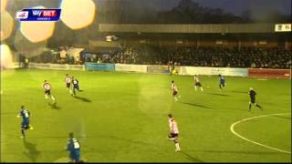 AFC Wimbledon vs Exeter City - League Two 2013/14