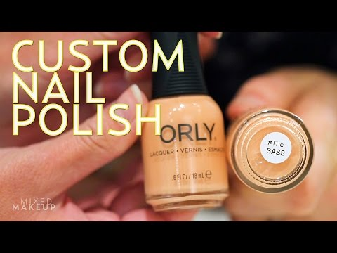 Watch Us Make a Custom Nail Polish at ORLY! | #TheSASS with Susan and Sharzad