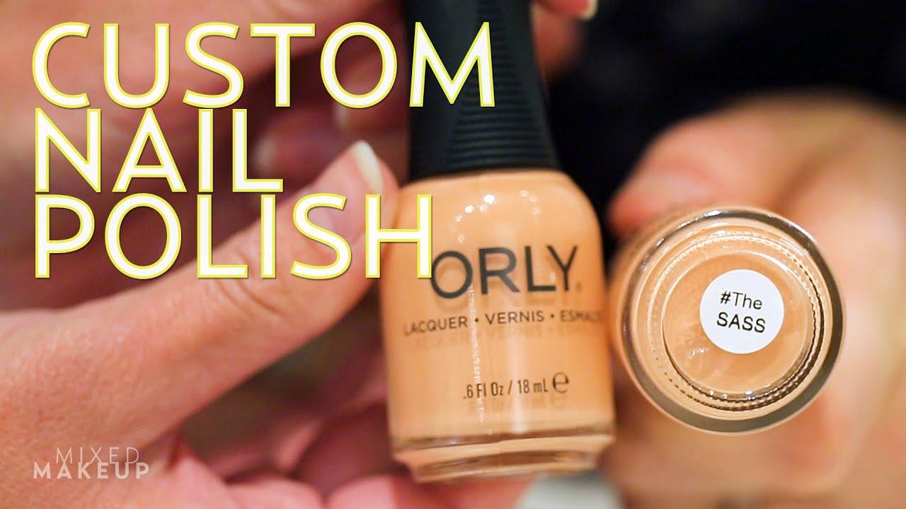 Watch Us Make a Custom Nail Polish at ORLY! | #TheSASS with Susan ...